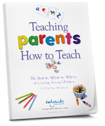 Teaching Parents How To Teach cover of printed book